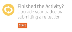 submit a reflection for your badge credit